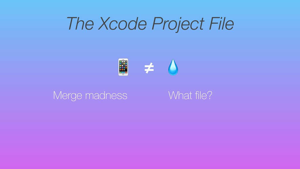 The Xcode Project File Merge madness  ≠ What fil...