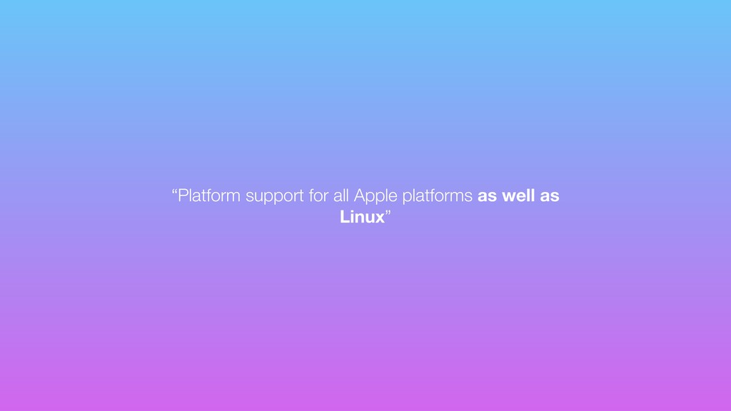 """Platform support for all Apple platforms as we..."