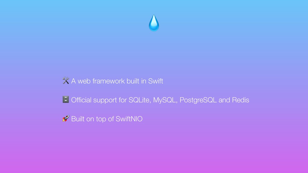 A web framework built in Swift  Official suppor...