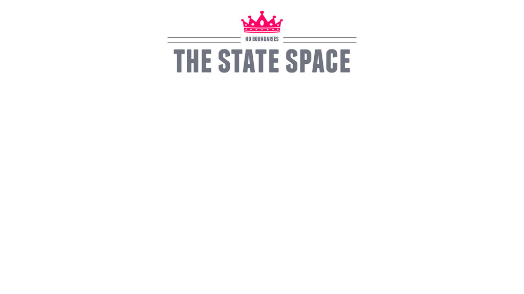 the state space no boundaries