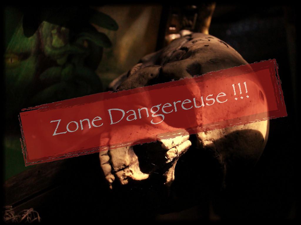 Zone Dangereuse !!!
