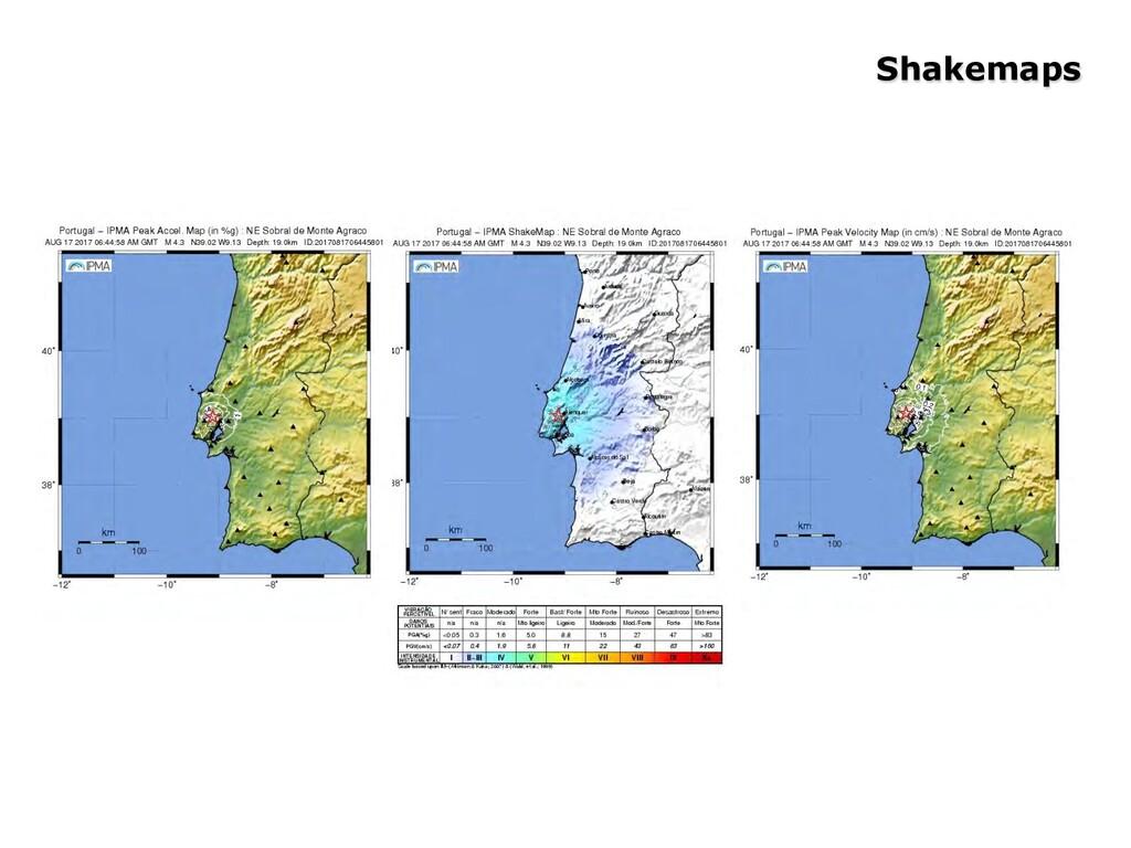 Shakemaps