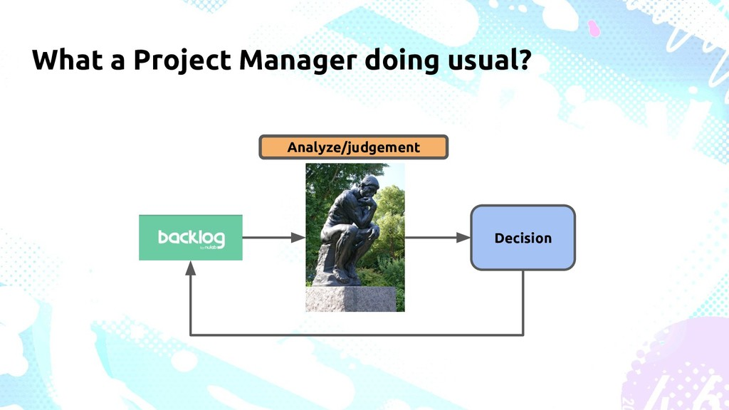 What a Project Manager doing usual? Analyze/jud...