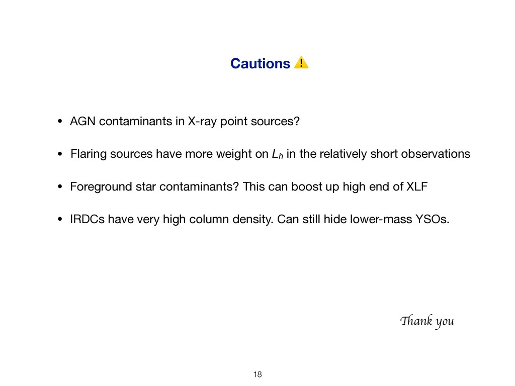Cautions ⚠ • Foreground star contaminants? This...