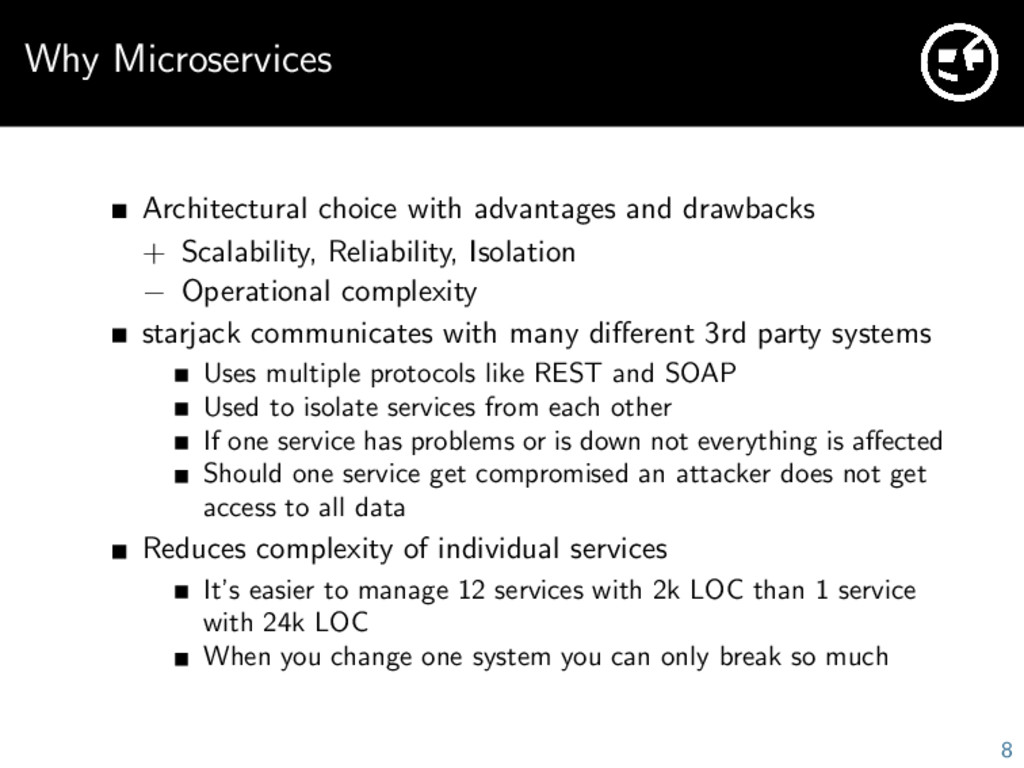 Why Microservices Architectural choice with adv...