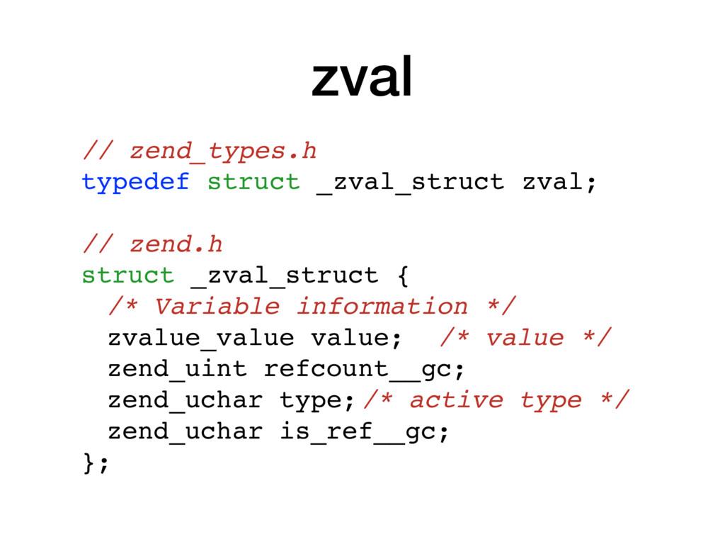 zval // zend_types.h typedef struct _zval_struc...