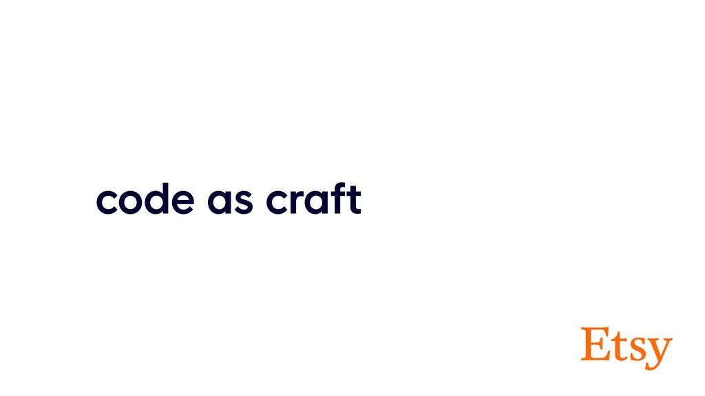 code as craft