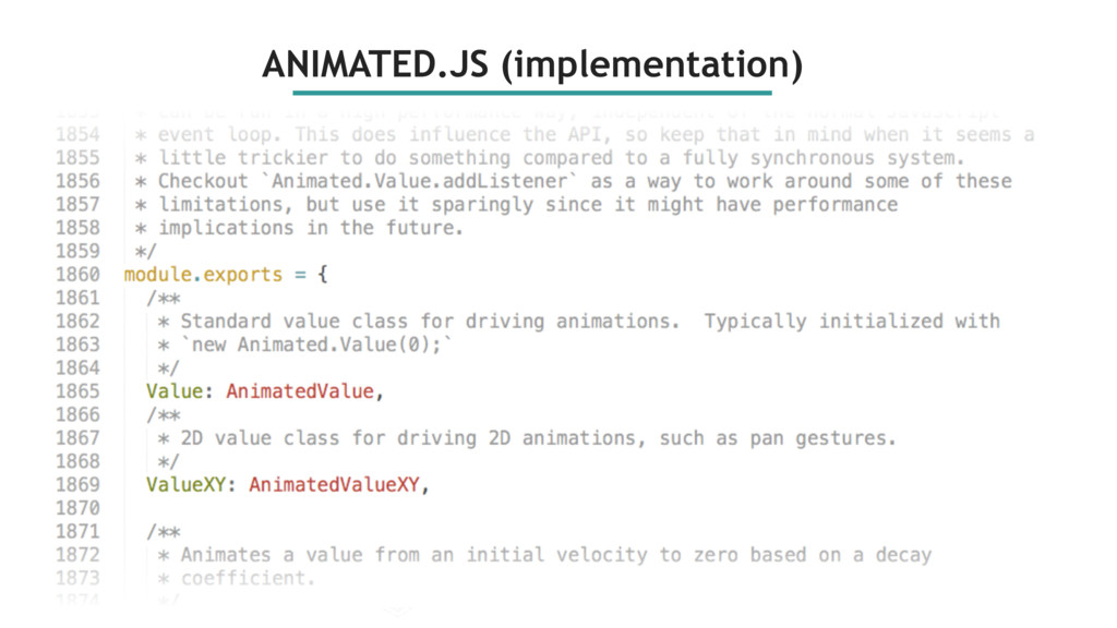 ANIMATED.JS (implementation)