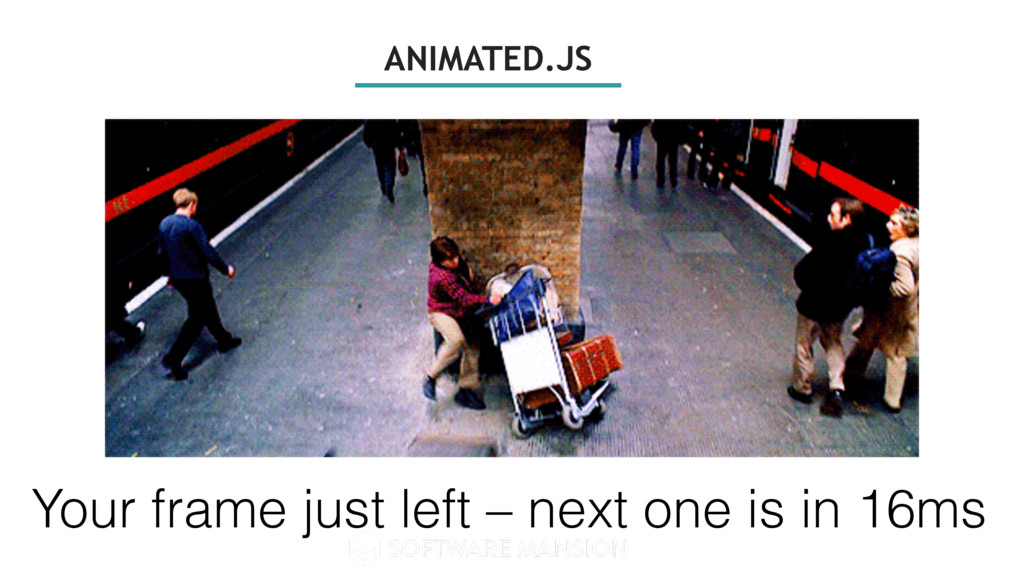 ANIMATED.JS Your frame just left – next one is ...