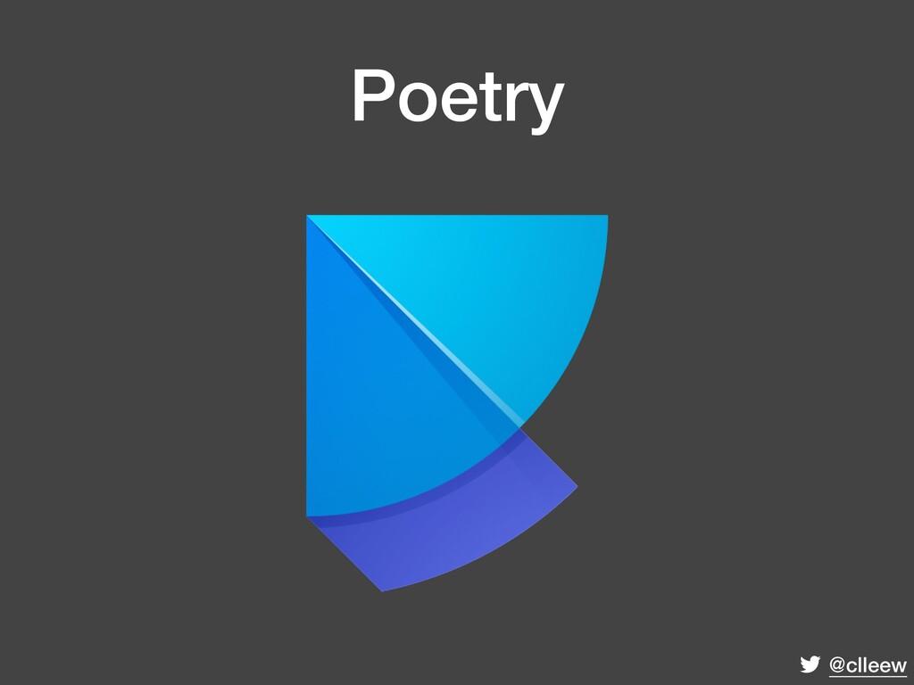 @clleew Poetry