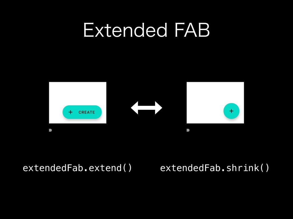"&YUFOEFE'""# extendedFab.extend() extendedFab.s..."
