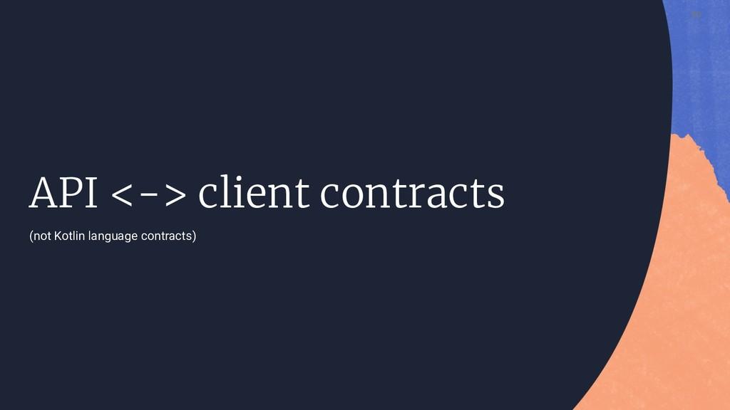 50 API <-> client contracts (not Kotlin languag...