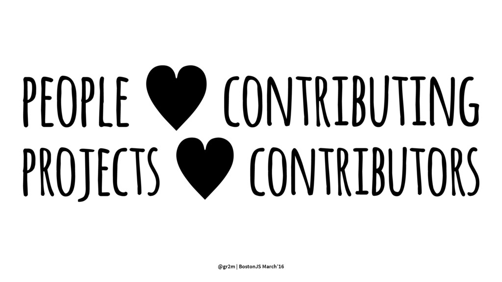 people — contributing projects — contributors @...