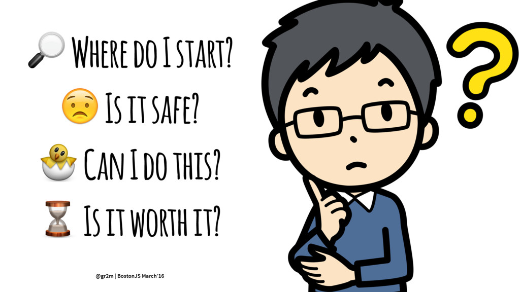! Where do I start? ! Is it safe? ! Can I do th...