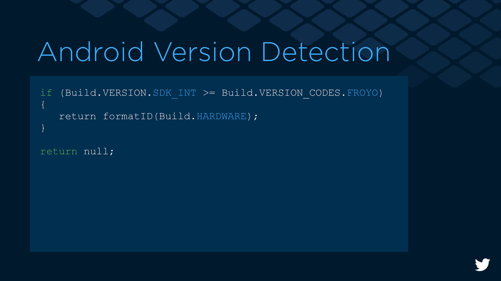 Android Version Detection if (Build.VERSION.SDK...
