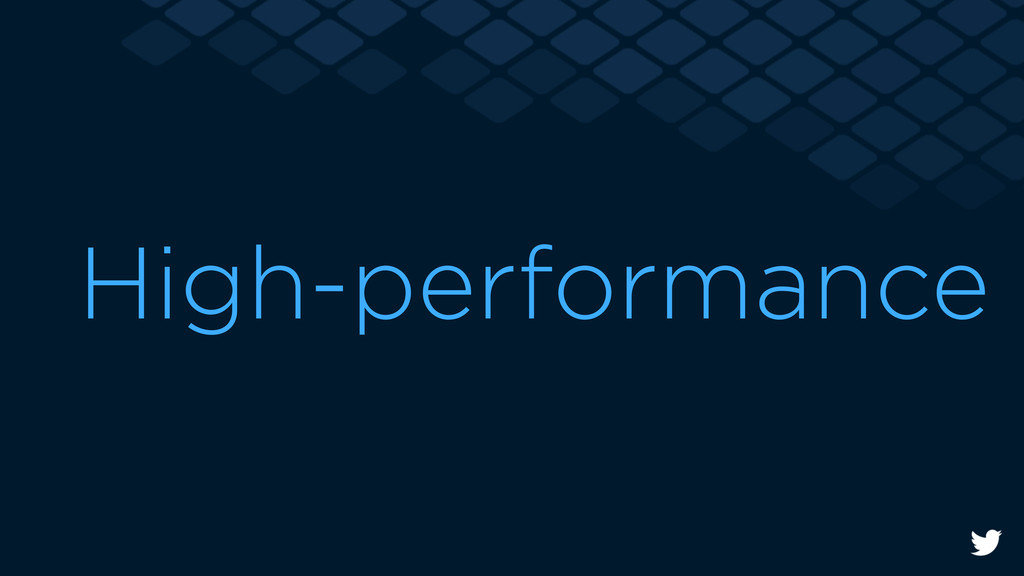 High-performance