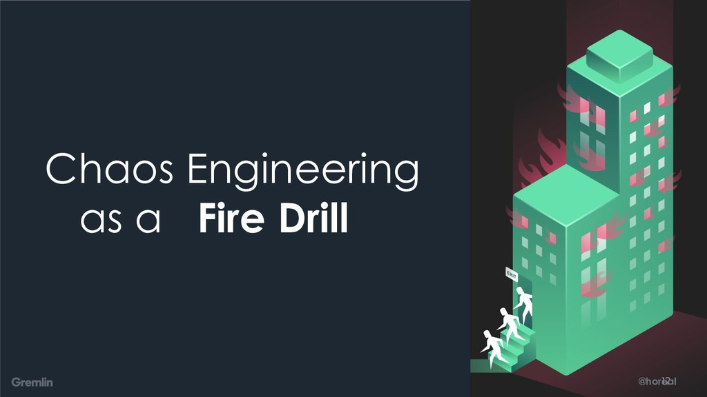 @horeal Chaos Engineering as a Fire Drill 12 @h...