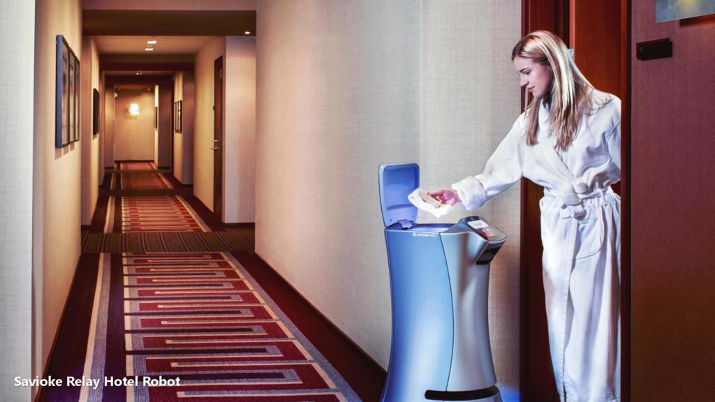 Savioke Relay Hotel Robot
