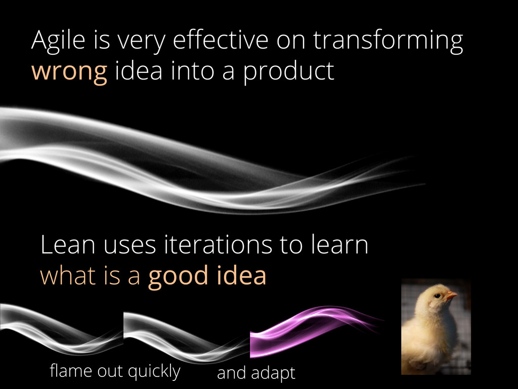 Agile is very effective on transforming wrong id...