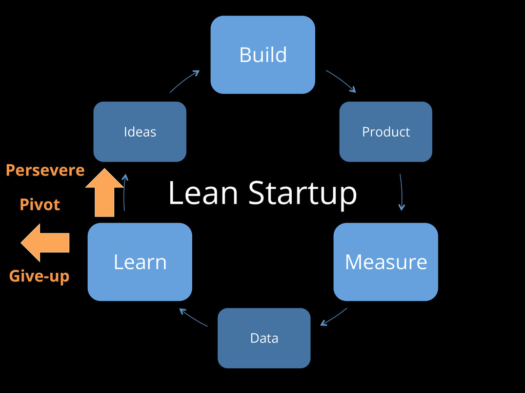 Lean Startup Build Product Measure Data Learn I...