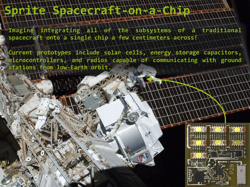 5 Sprite Spacecraft-‐on-‐a-‐Chip  Imag...