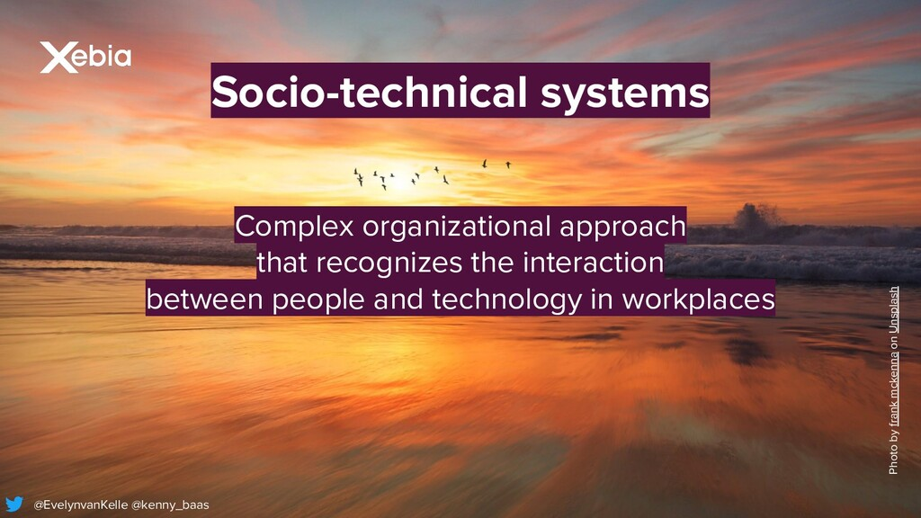 Socio-technical systems Photo by frank mckenna ...