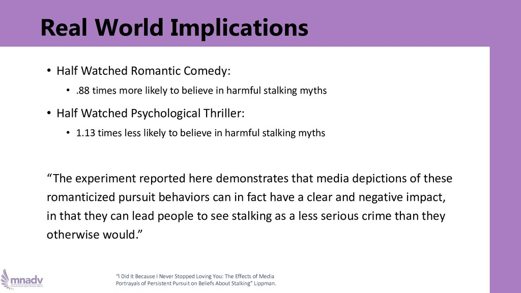Real World Implications • Half Watched Romantic...