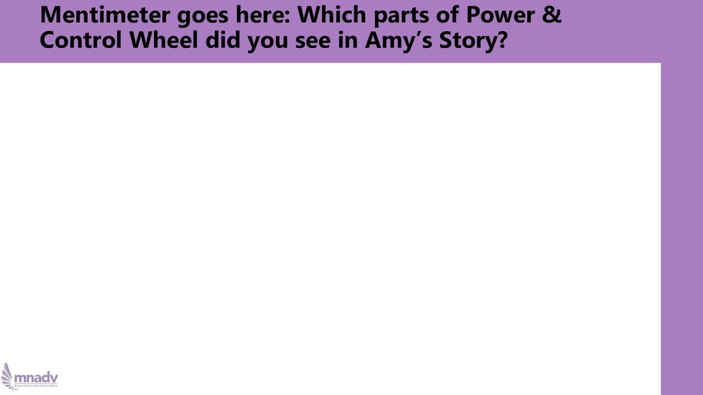 Mentimeter goes here: Which parts of Power & Co...