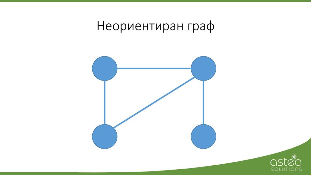 Неориентиран граф