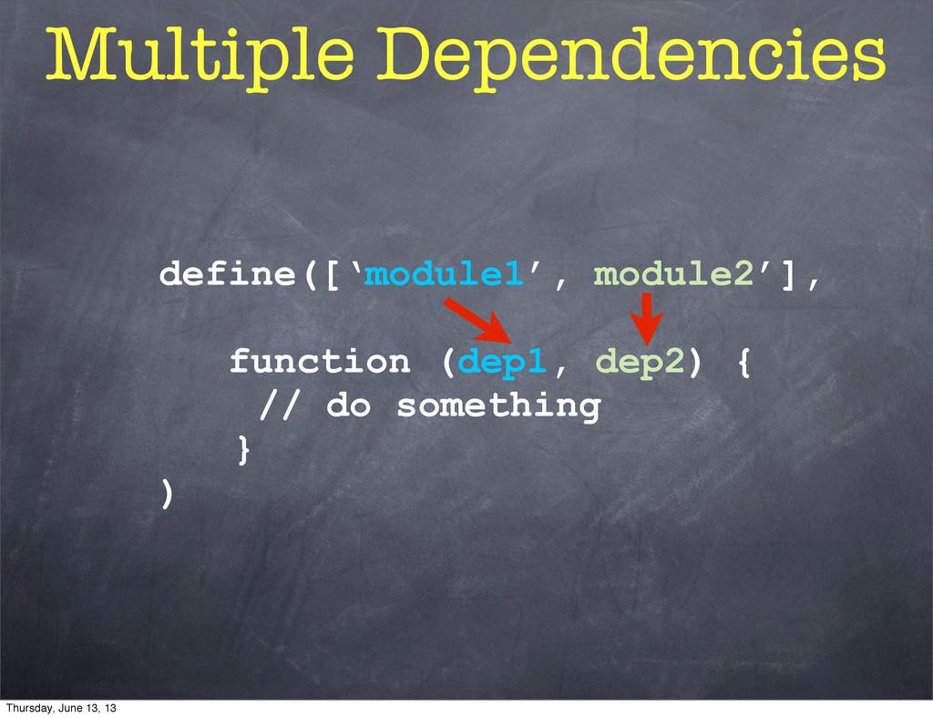 define(['module1', module2'], function (dep1, d...