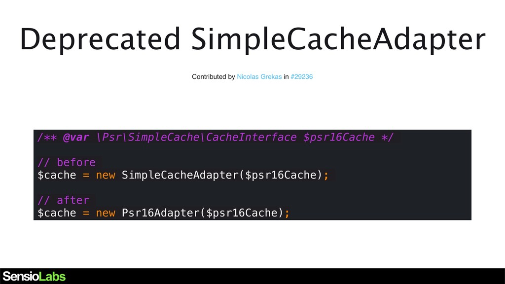 Deprecated SimpleCacheAdapter Contributed by Ni...