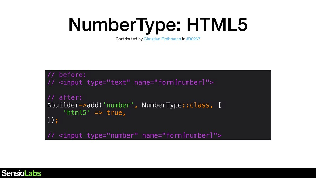 NumberType: HTML5 Contributed by Christian Flot...