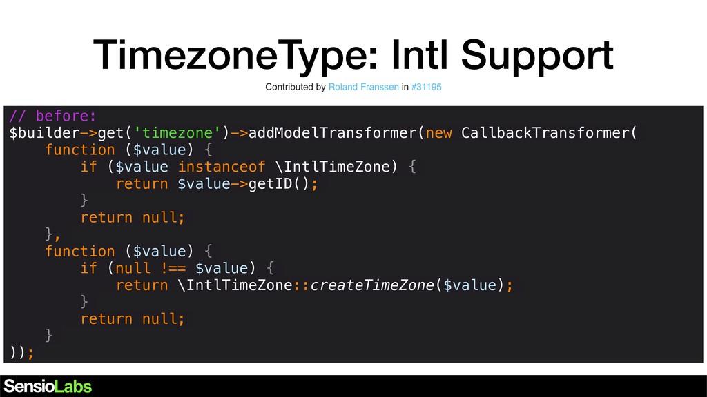 TimezoneType: Intl Support // before: $builder-...