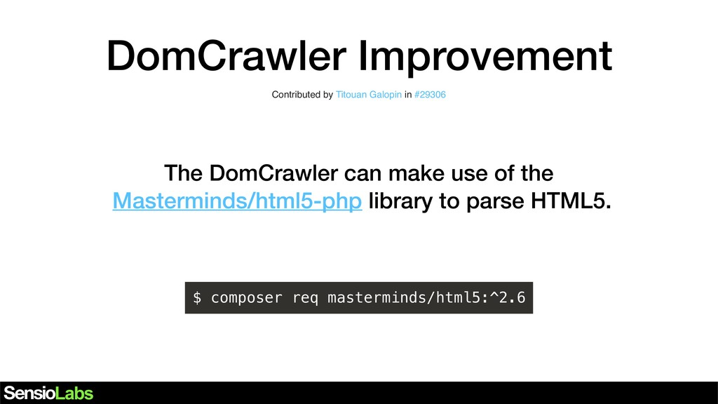 DomCrawler Improvement Contributed by Titouan G...