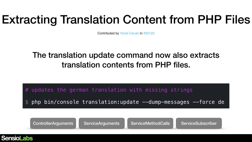 Extracting Translation Content from PHP Files C...