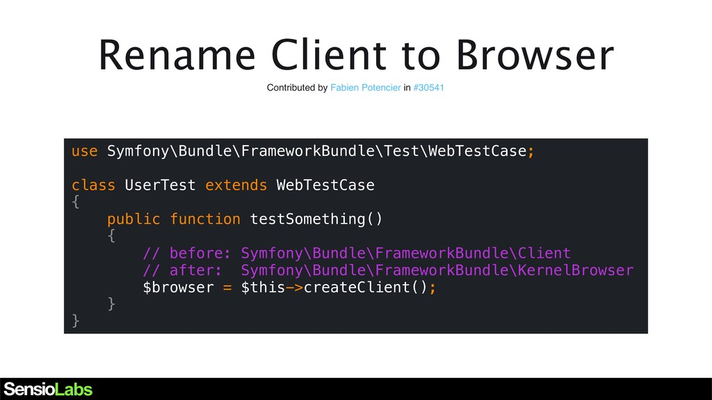 Rename Client to Browser Contributed by Fabien ...