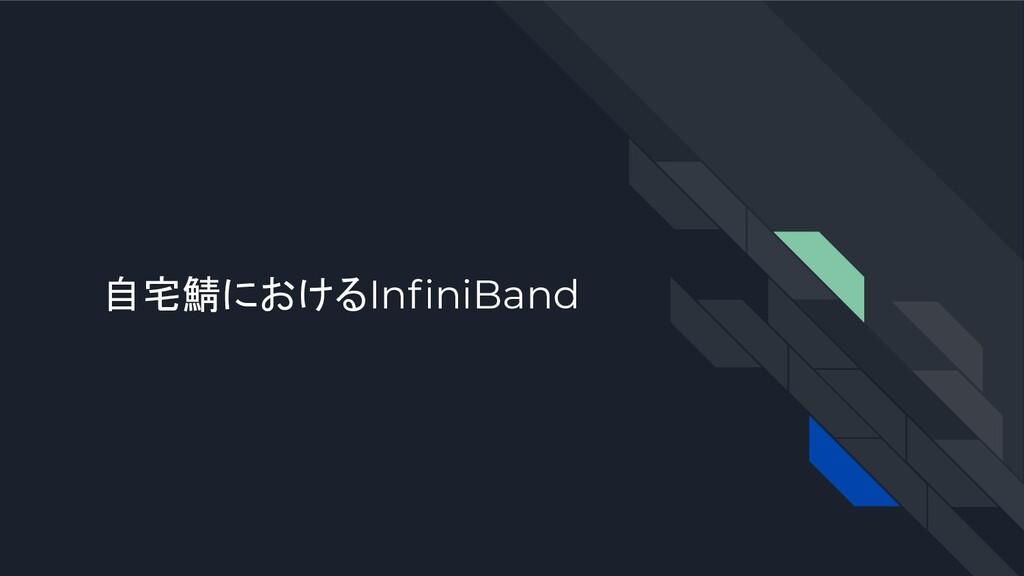 自宅鯖におけるInfiniBand