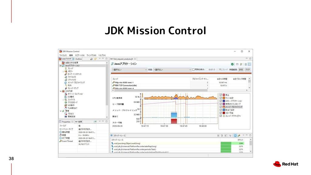 JDK Mission Control 38