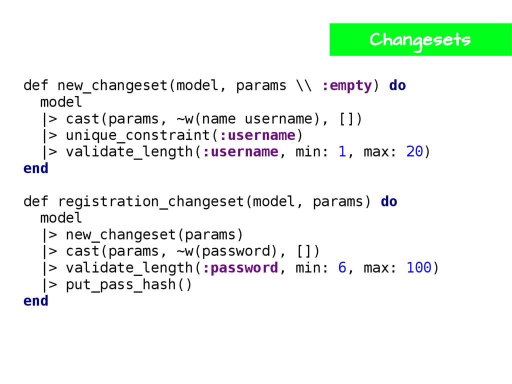 def new_changeset(model, params \\ :empty) do m...