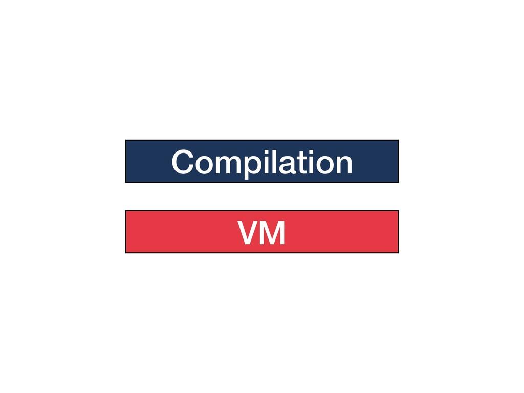 Compilation VM