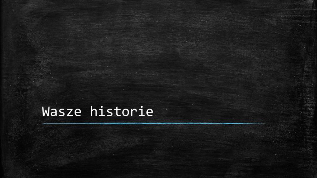 Wasze historie
