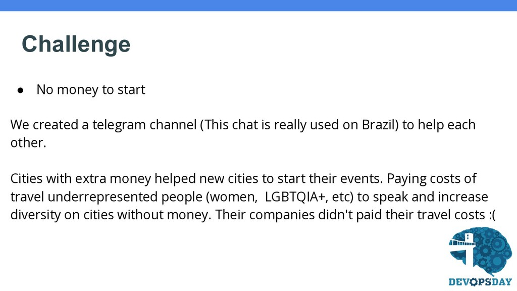 ● No money to start We created a telegram chann...