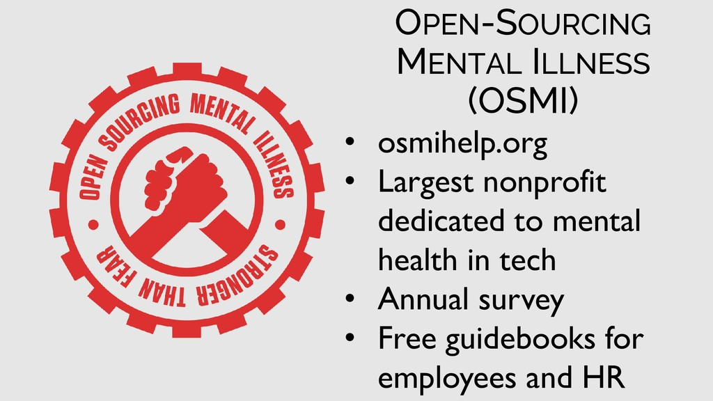 • osmihelp.org • Largest nonprofit dedicated to...