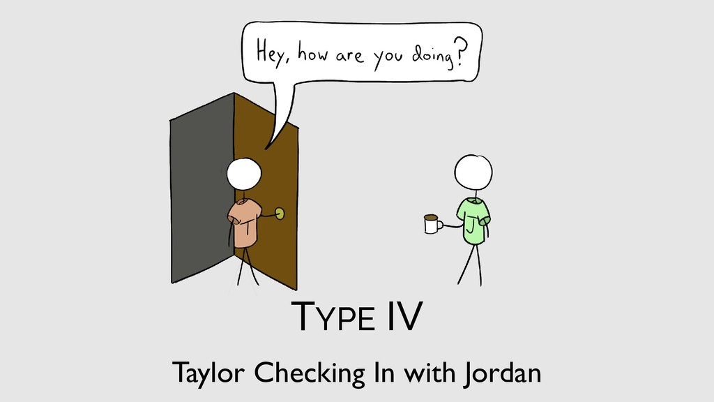 Taylor Checking In with Jordan TYPE IV