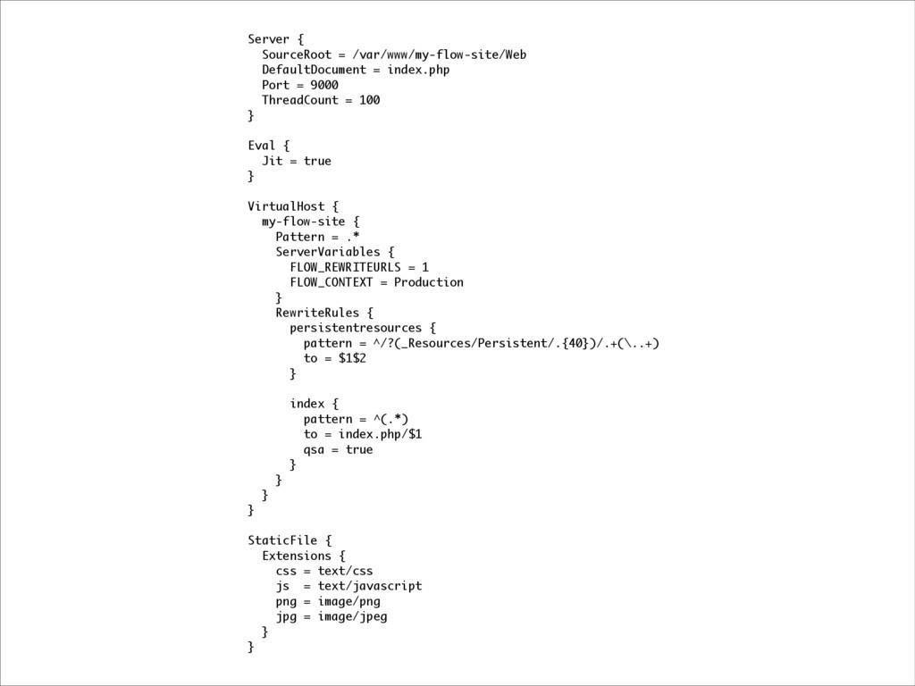 Server { SourceRoot = /var/www/my-flow-site/Web...