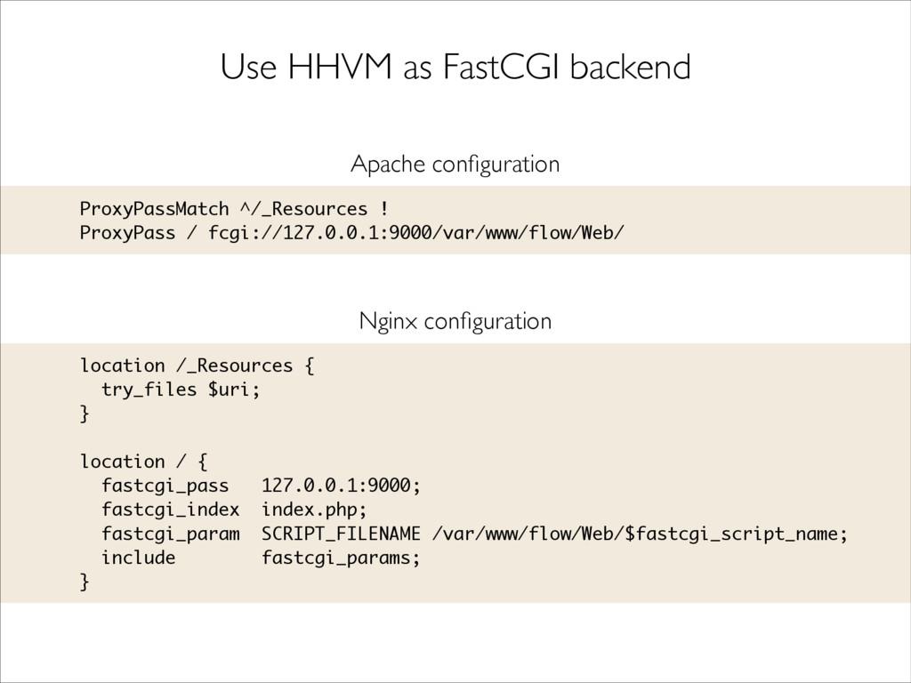 Use HHVM as FastCGI backend ProxyPassMatch ^/_R...
