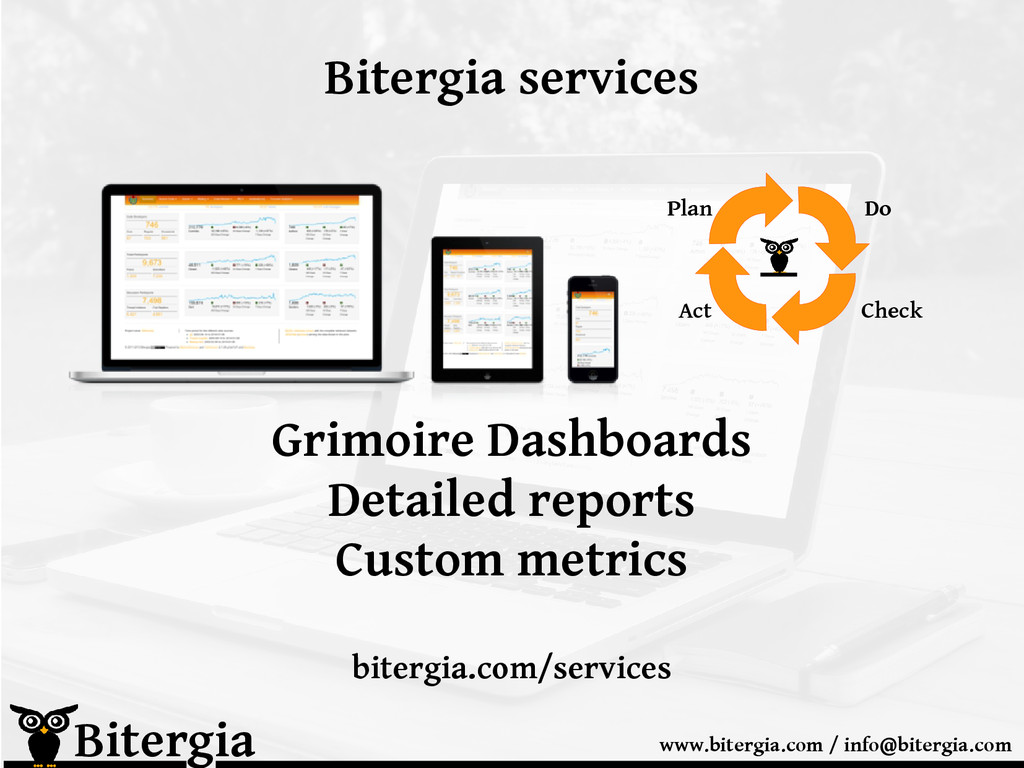 Bitergia services Bitergia www.bitergia.com / i...