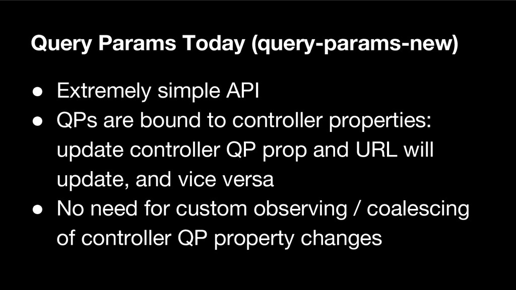 Query Params Today (query-params-new) ● Extreme...