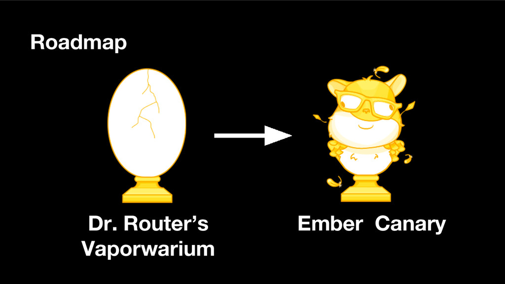 Roadmap Dr. Router's Vaporwarium Ember Canary