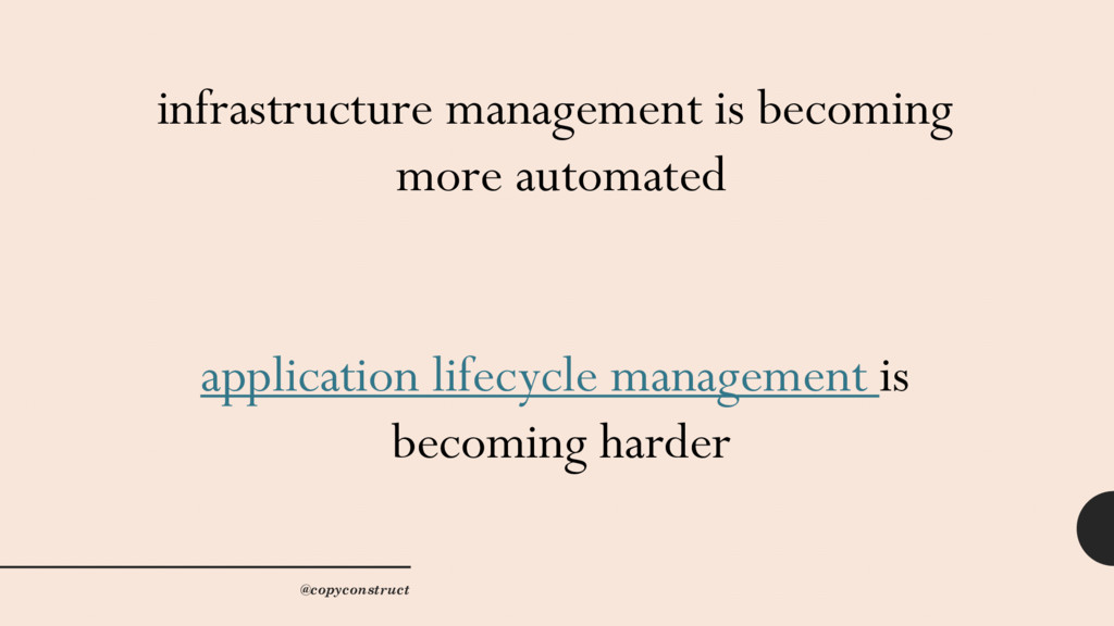 infrastructure management is becoming more auto...
